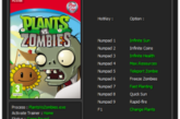 Plants vs Zombies, трейнер