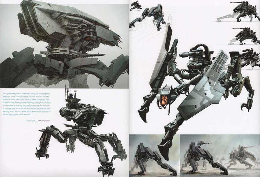Killzone Visual Design artbook