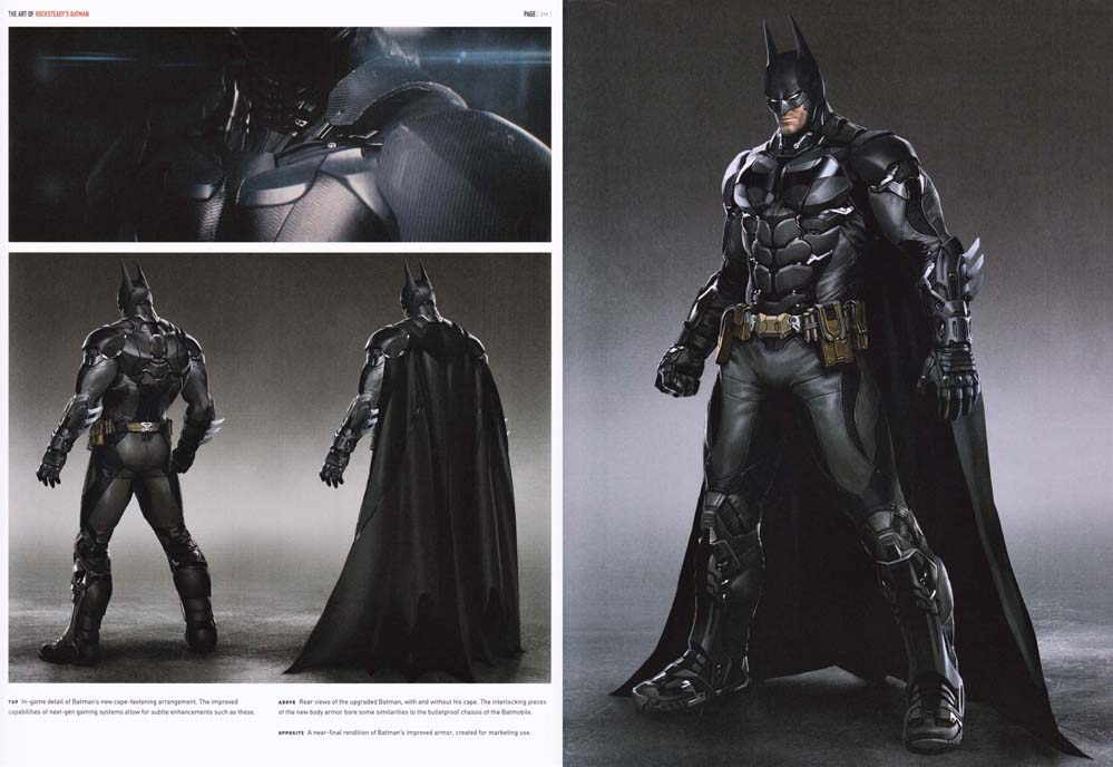 Rocksteady's Batman artbook