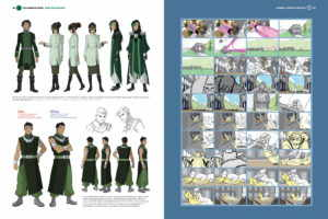 Legend of Korra: Book 4 ArtBook