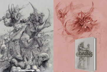 Mysterious Artbook Subconscious: Sketches From A Dark Place