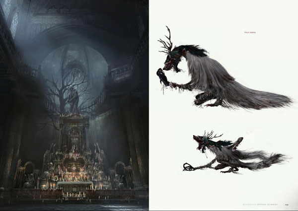 Bloodborne Official Artworks PDF