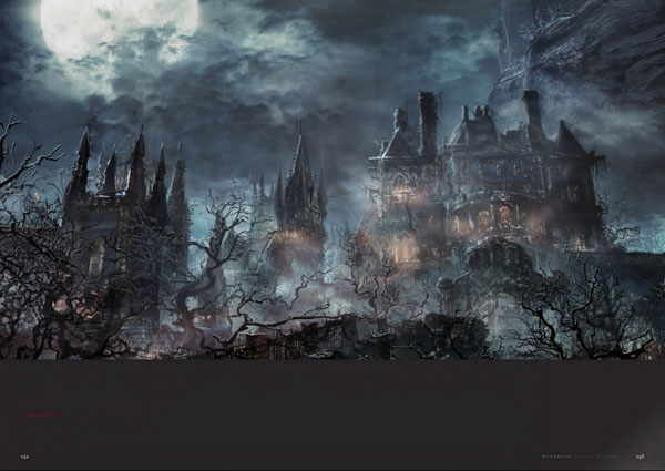 artbook The Bloodborne Official Artworks