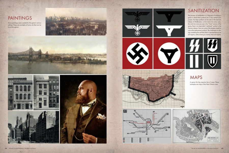 скачать артбук The Art of Wolfenstein II