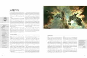 Artbook Frigates of EVE Online