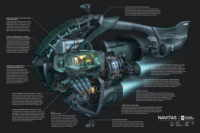 Frigates of EVE Online: The Cross Sections
