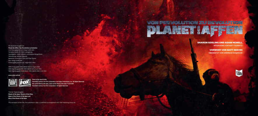 Planet der Affen Artbook