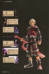 Artbook Xenoblade: The Secret File