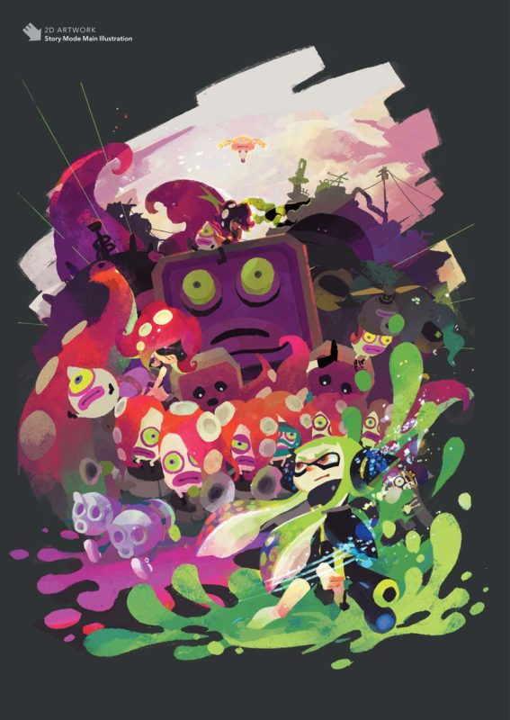 Splatoon artbook