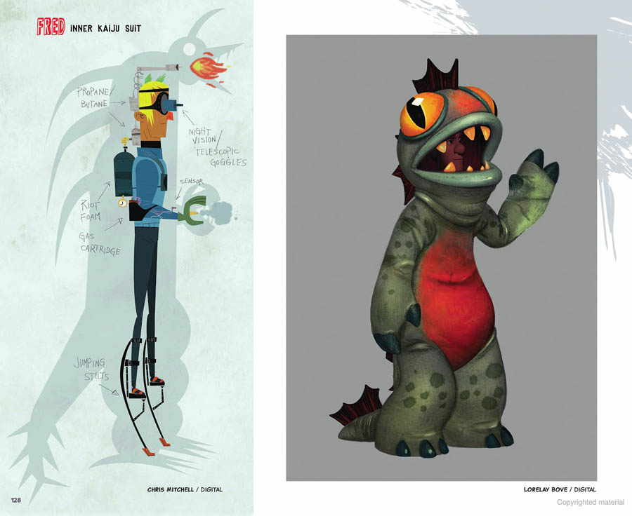 Artbook Download The Art of Big Hero 6