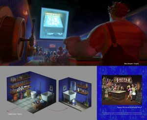 Artbook The Art of Wreck-It Ralph