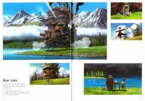 артбук по фильму Бродячий замок