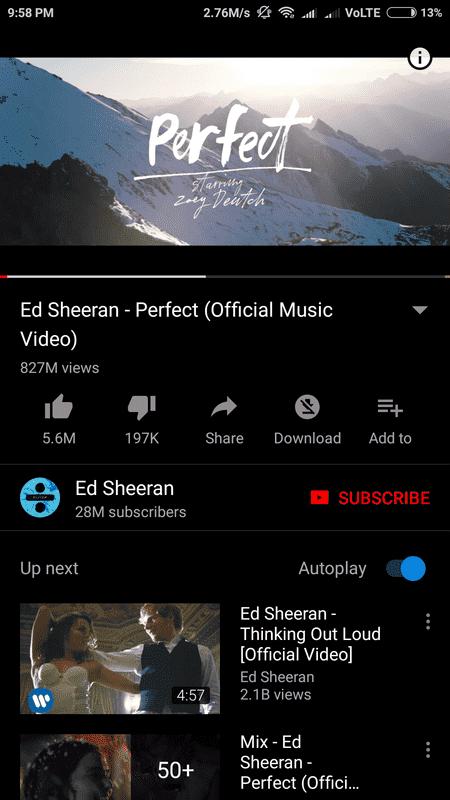 YouTube v13.07.55 android apl