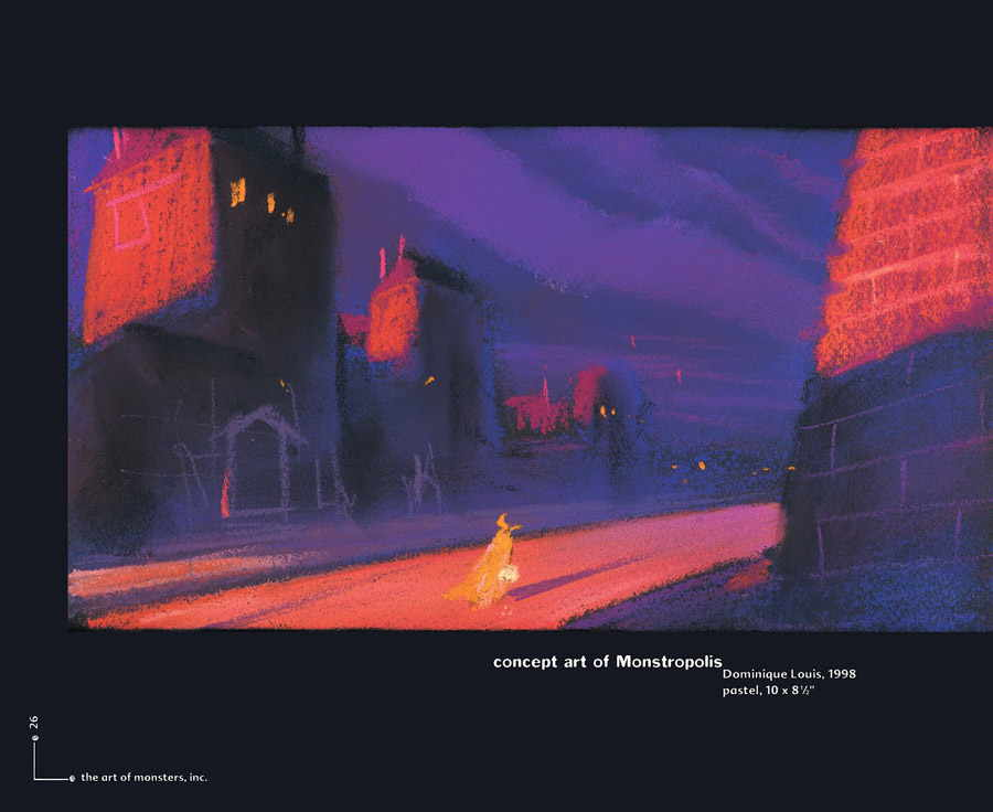Artbook The Art of Monster, Inc