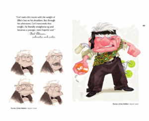 Artbook The Art of Up