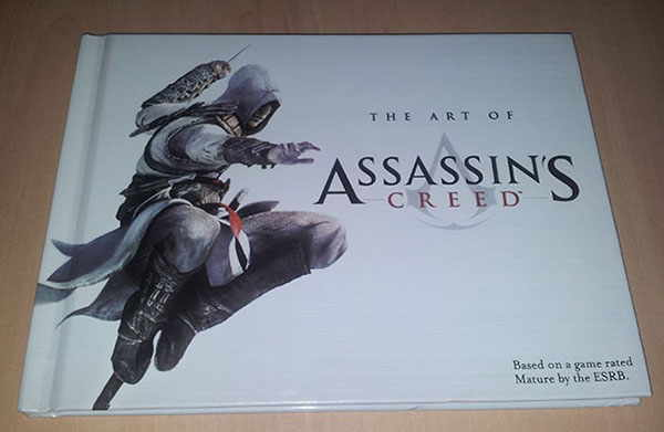 artbooks for the game Assassin's Creed