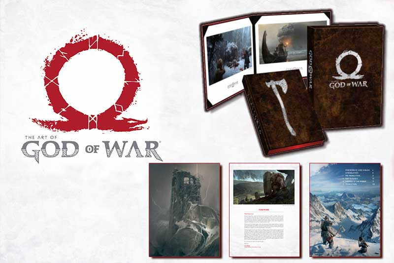 The Art of God of War book
