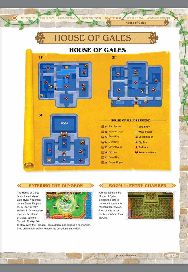 strategy guide The Legend of Zelda: A Link Between Worlds