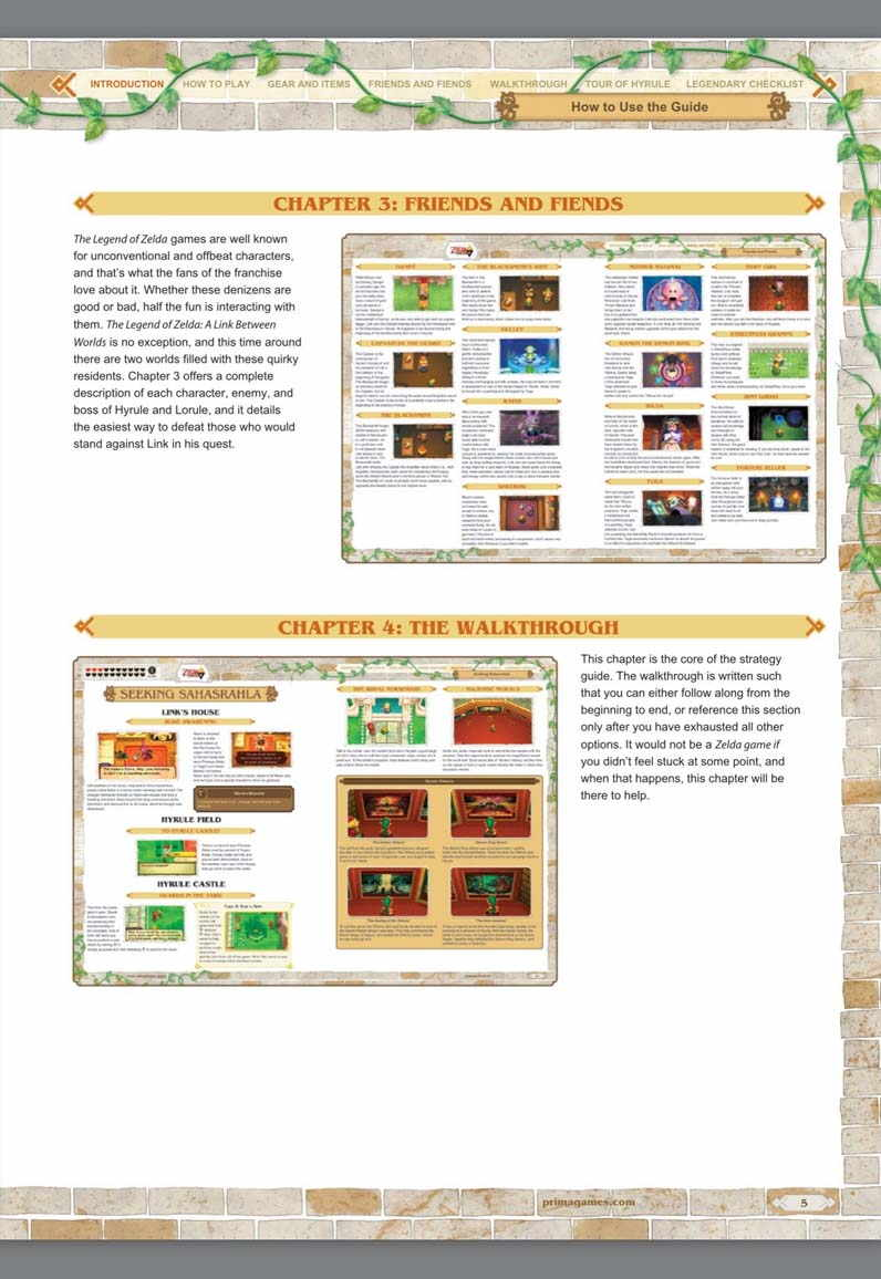 The Legend of Zelda: A Link Between Worlds: Game Guide PDF