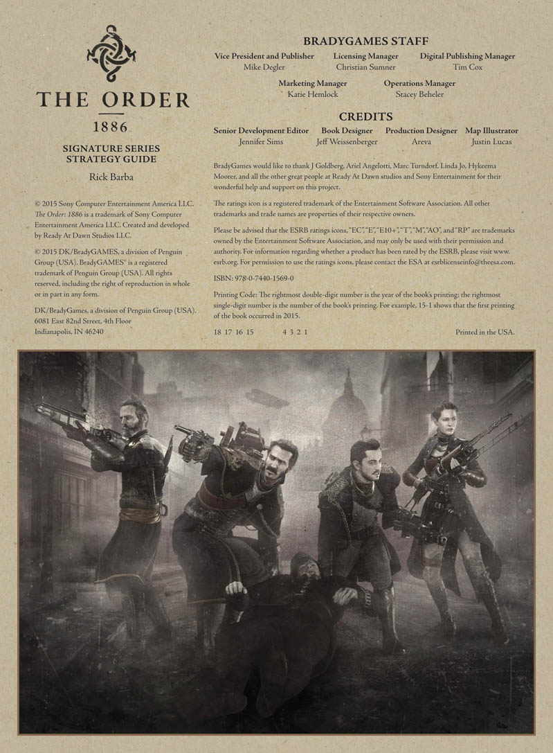 The Order: 1886 Guide pdf