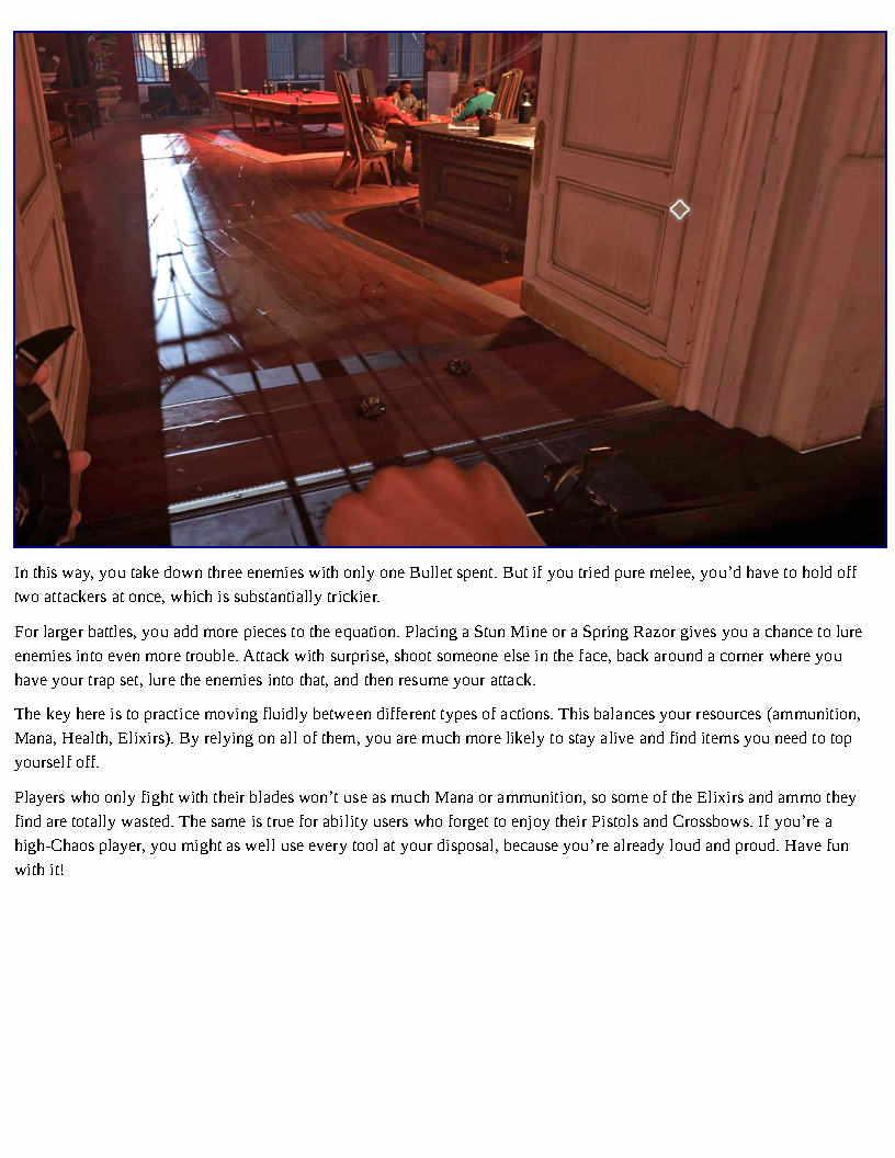 гайдбук по игре Dishonored 2