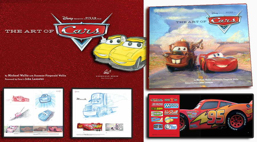 The Art of Cars book