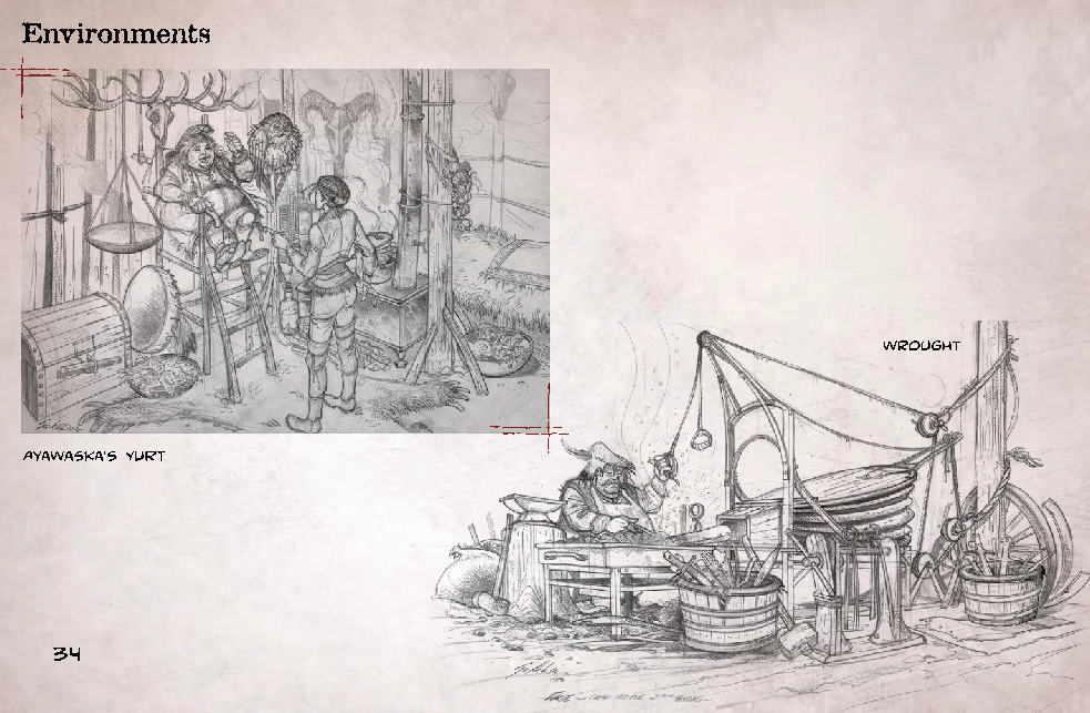 артбук по игре Syberia 3