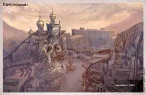 Artbook The Art of Syberia 3