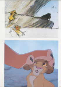artbook The Art of The Lion King