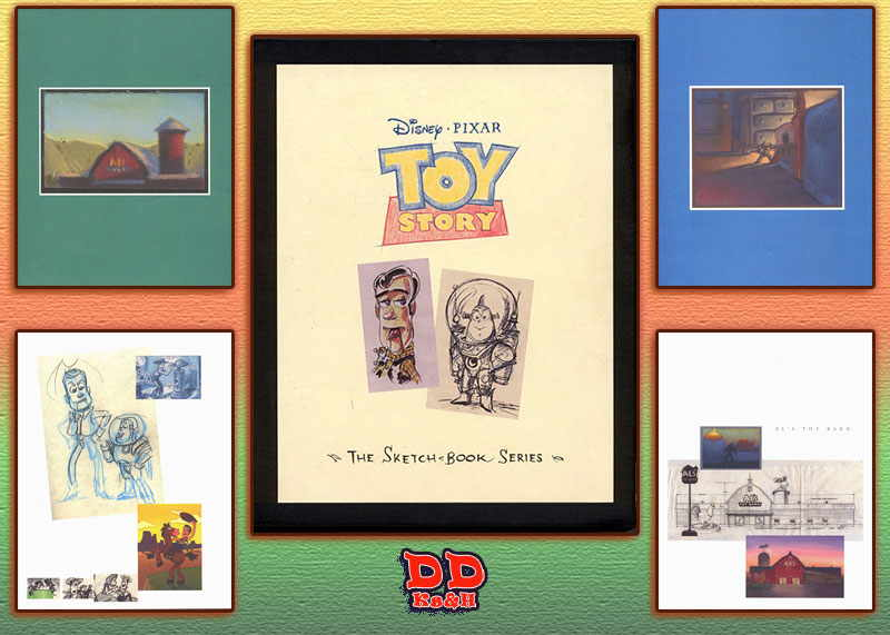 The Toy Story Sketchbook