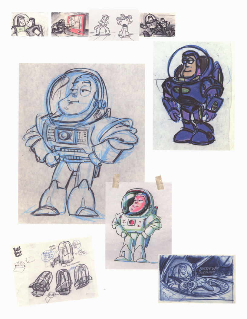 The Toy Story Sketchbook PDF