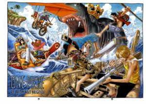 Artbook One Piece - Color Walk 4 - Eagle