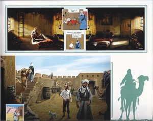 Adventures of Tintin book
