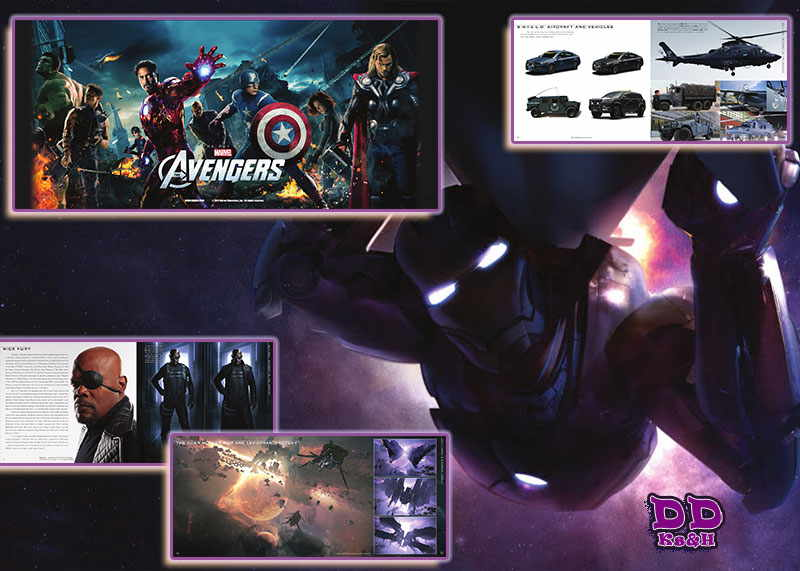 The Art of Marvel's The Avengers