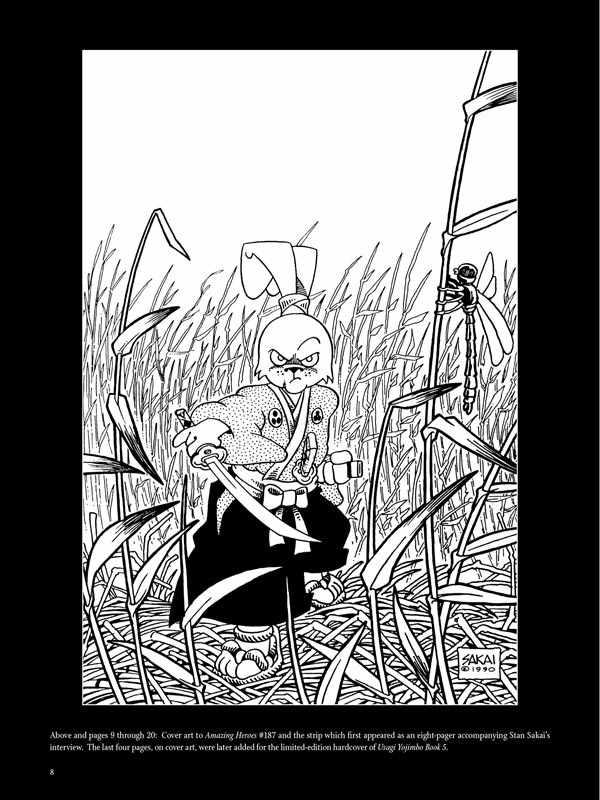 The Art of Usagi Yojimbo