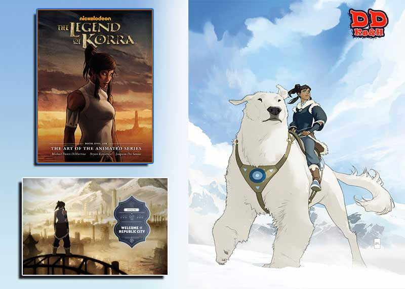Artbook The Legend of Korra: Book One