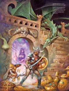 artbook Dungeons and Dragons