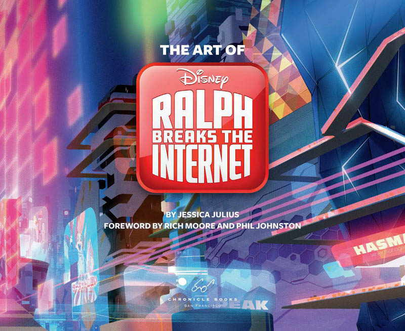 The Art of Ralph Breaks the Internet