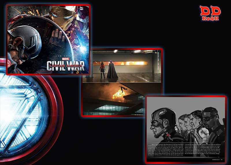 artbook Civil War: The Art of the Movie