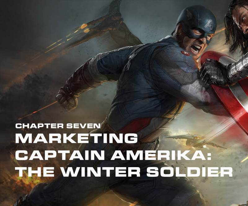 artbook The Winter Soldier
