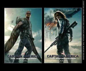 the art of Captain America
