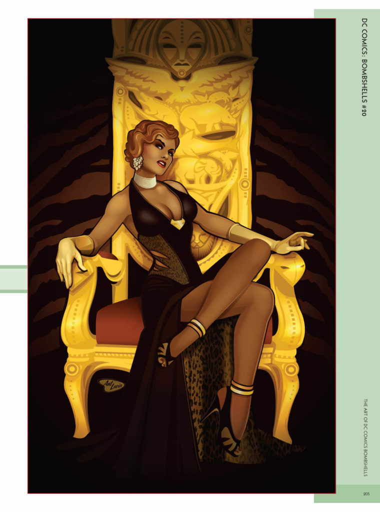 The Art of DC Comics Bombshells pdf