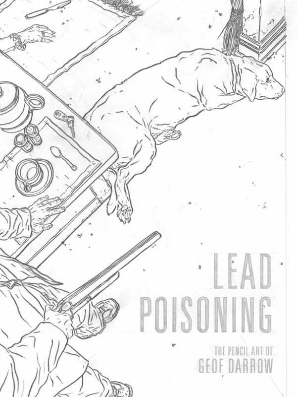 Lead Poisoning: The Pencil Art