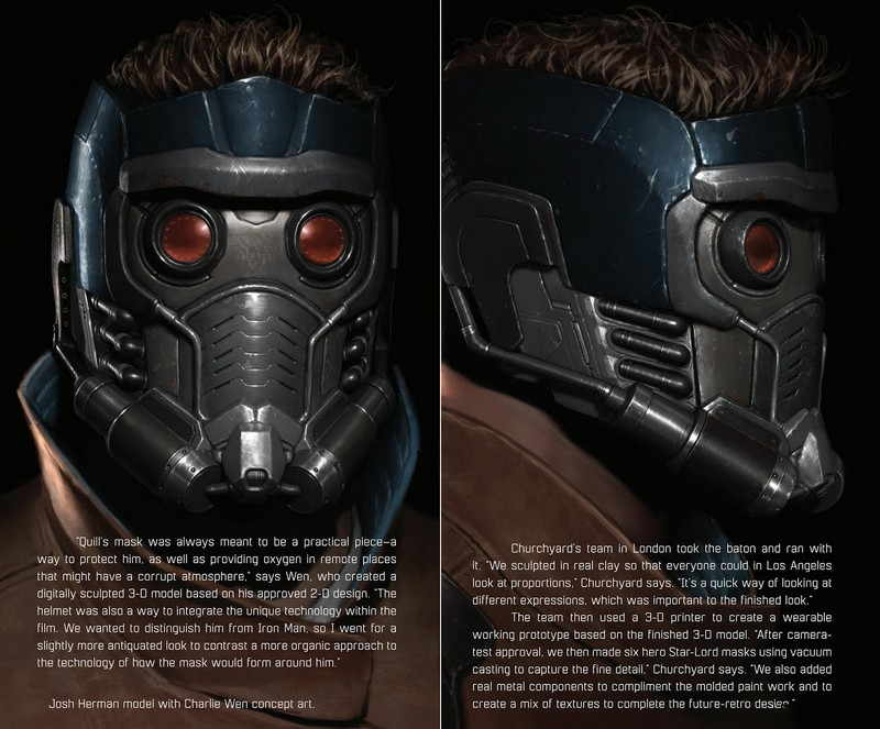 Guardians Of The Galaxy The Art Of The Movie