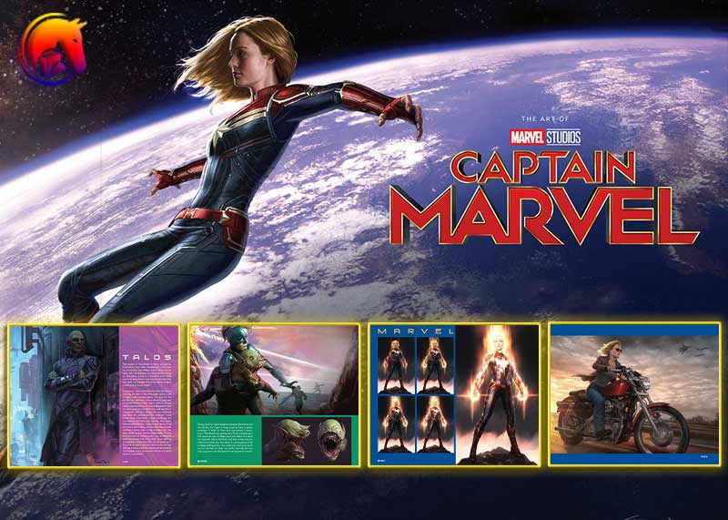 Marvel's Captain Marvel: The Art