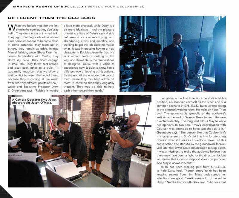 S.H.I.E.L.D. Season Four artbook