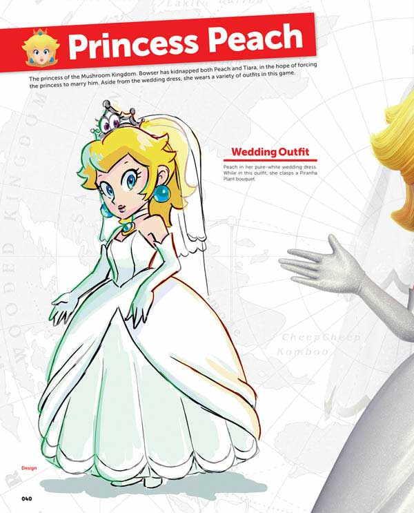 Super Mario Odyssey artbook