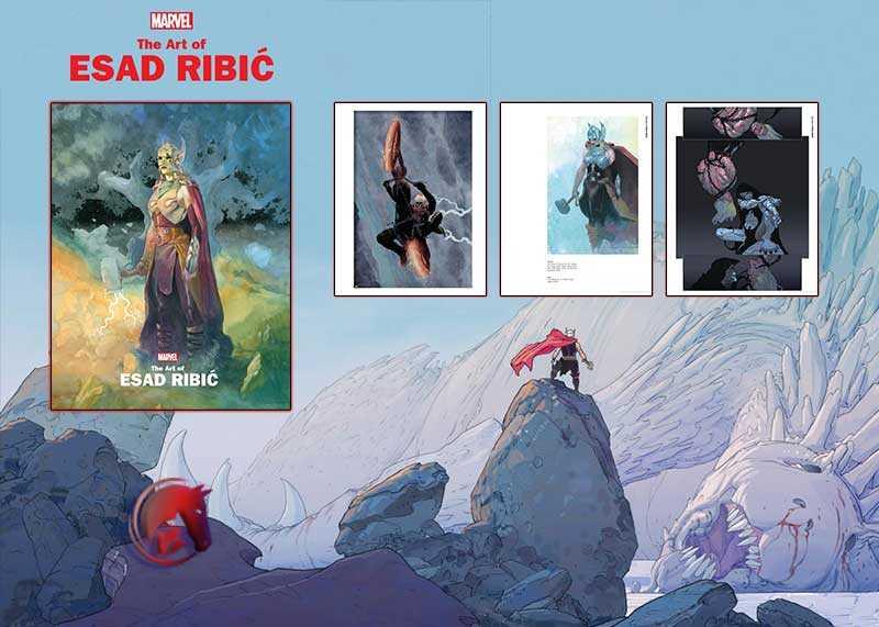 Marvel Monograph Art Esad Ribic