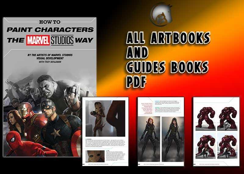 Paint Characters Marvel Studios