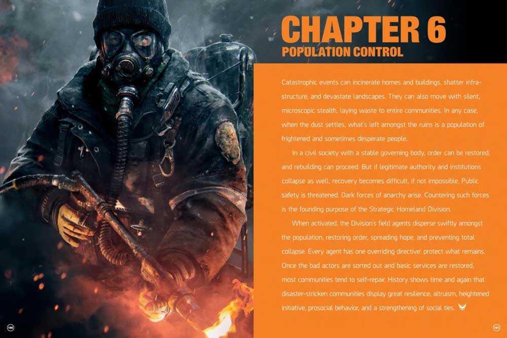 The Division artbook